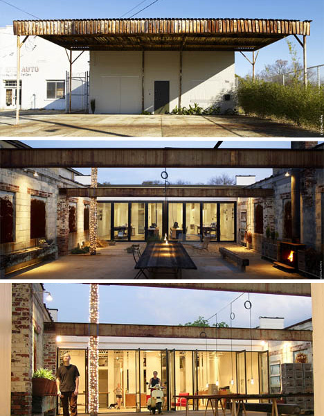 An old factory turned into a futuristic village & warehouse | HomeSafe Improvements Blog